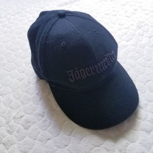 Jagermeister ball cap hat black liquor bar german